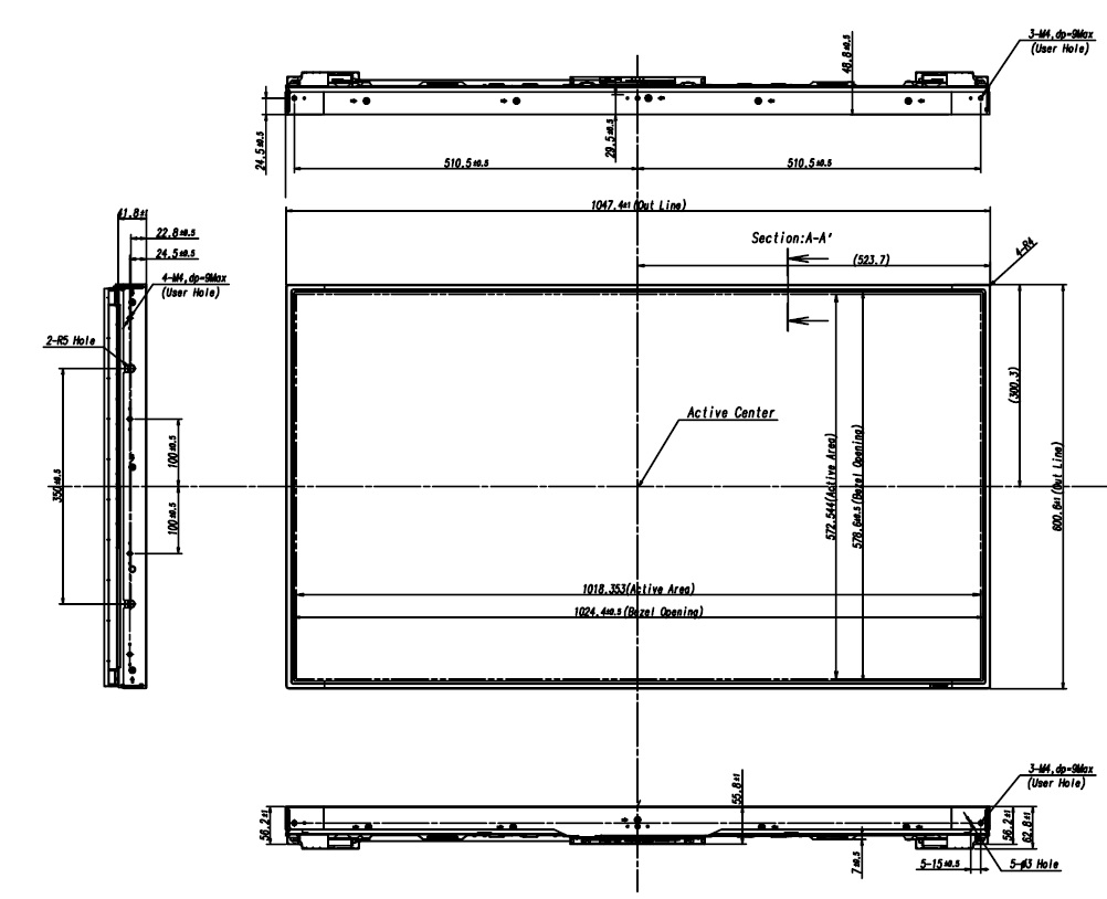 Samsung Welcome To Laptoplcdcouk Your Worldwide Source For 17pw26 4 Circuit Diagram 0 44 Lti460aa03 001 460 Tft Lcd Active Display Area