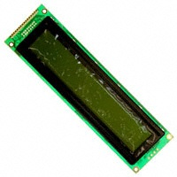 MDLS-40466-GHVLED4G, LCD DISPLAY MODULE 40X4 SUPERTWIST W/LED,